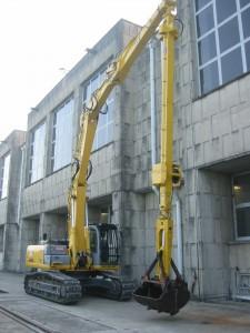 Photo du bâti long télescopique